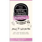 Multi Woman Royal Green 60