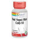 Red Yeast Rice 600 mg | Red Yeast Rice CoQ10 Solaray